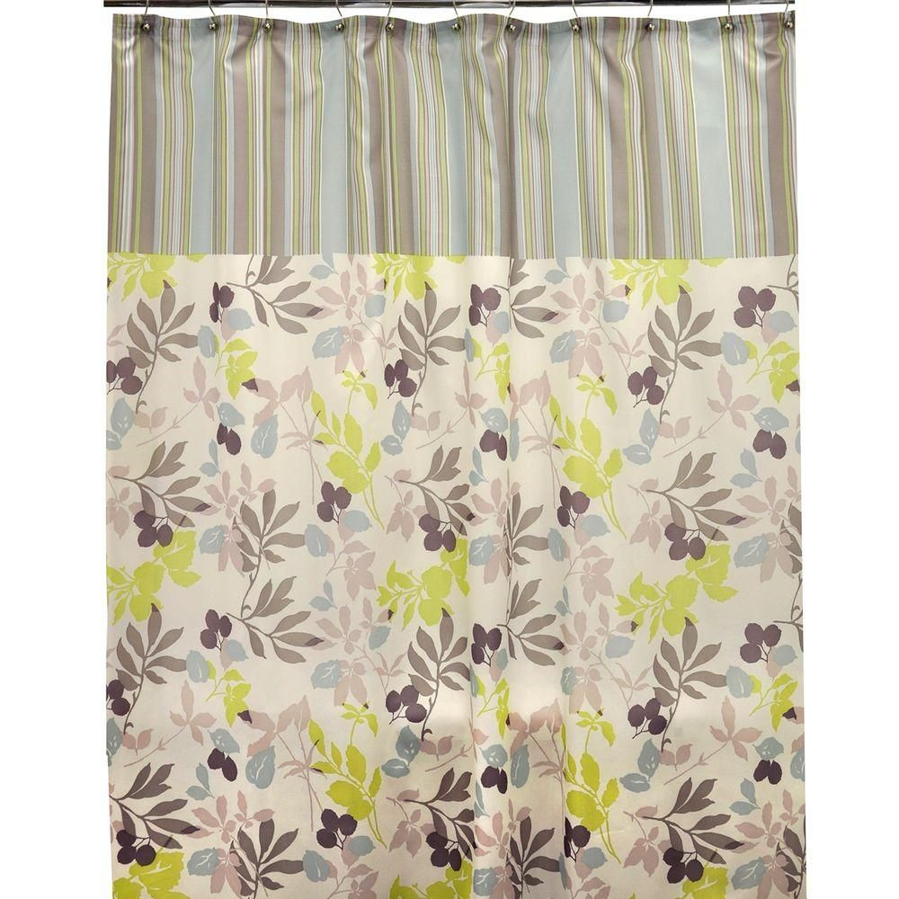 Famous Home Fashions Wind Shower Curtain 901566 Shower Curtains