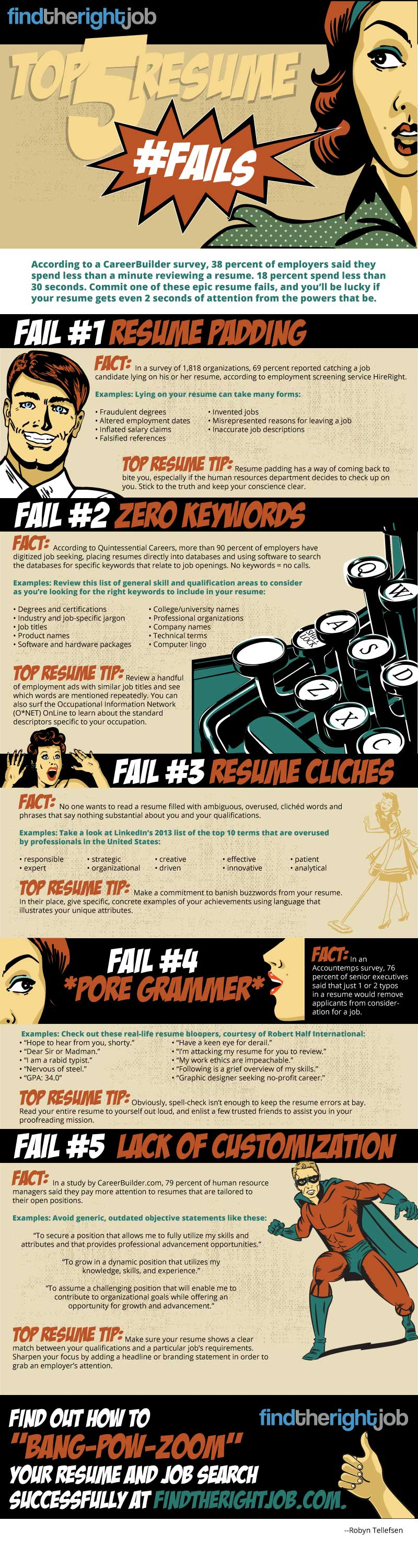 How You Can Very Easily Avoid the Most Common Resume Mistakes ...