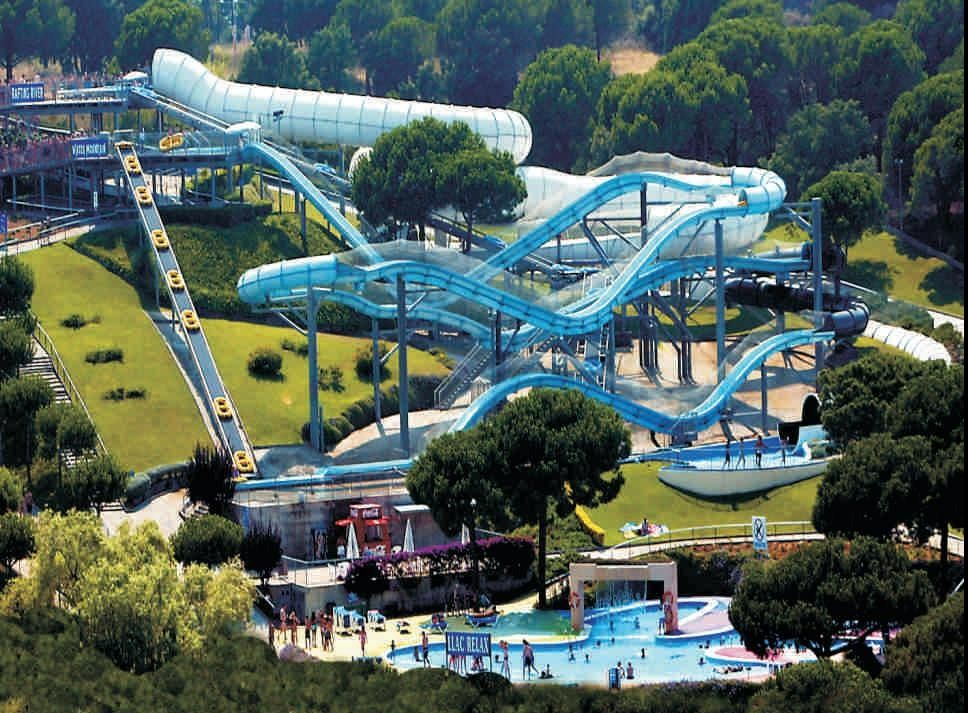 Funnest Water Parks In The World Waterworld Water Park Lloret De
