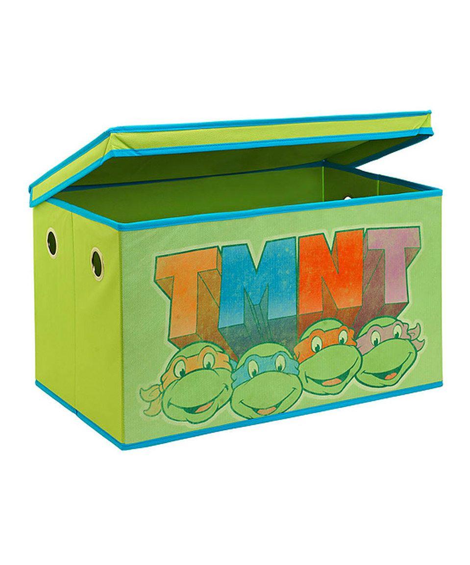 Another great find on #zulily! TMNT Classic Storage Chest by Kennedy International #zulilyfinds