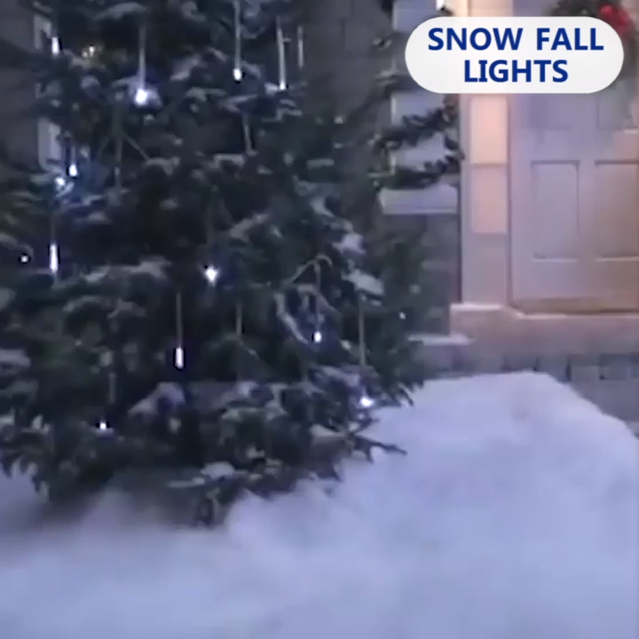 Photo of 70% OFF Holiday Promotion-Snow Fall LED Lights