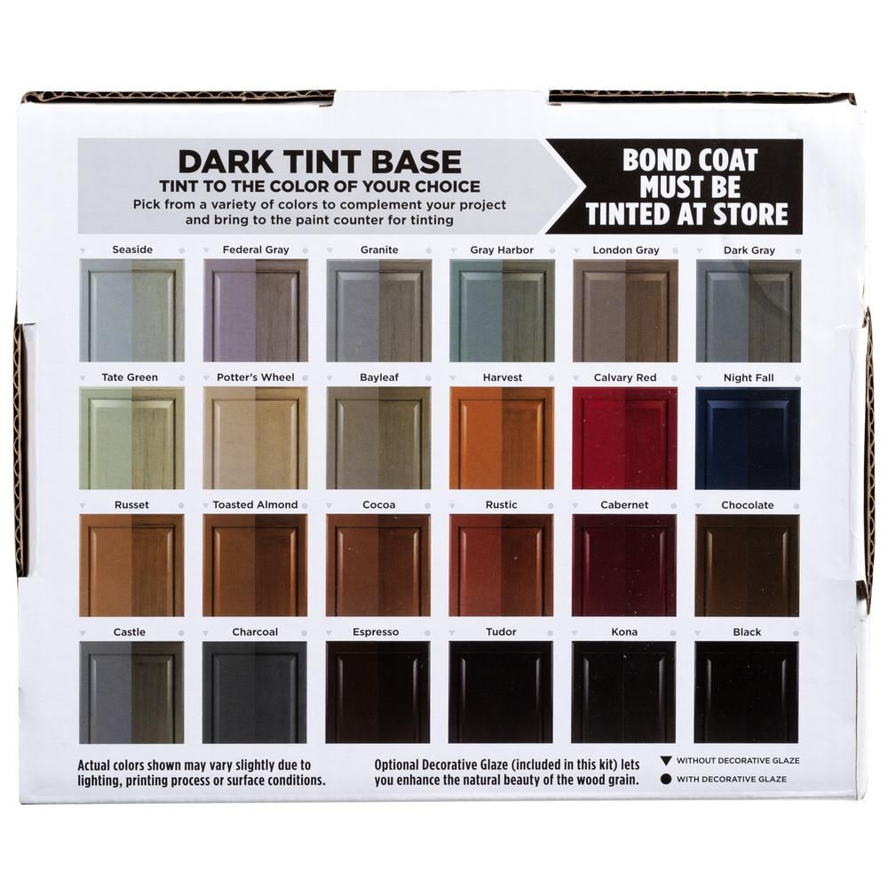 Cabinet Refacing Colors: Rust-Oleum Transformations Dark Color Cabinet Kit (9-Piece