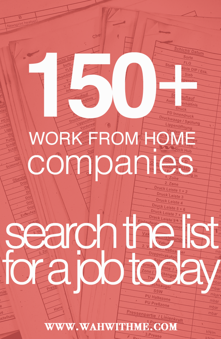 list of work from home jobs Writing jobs, Write online