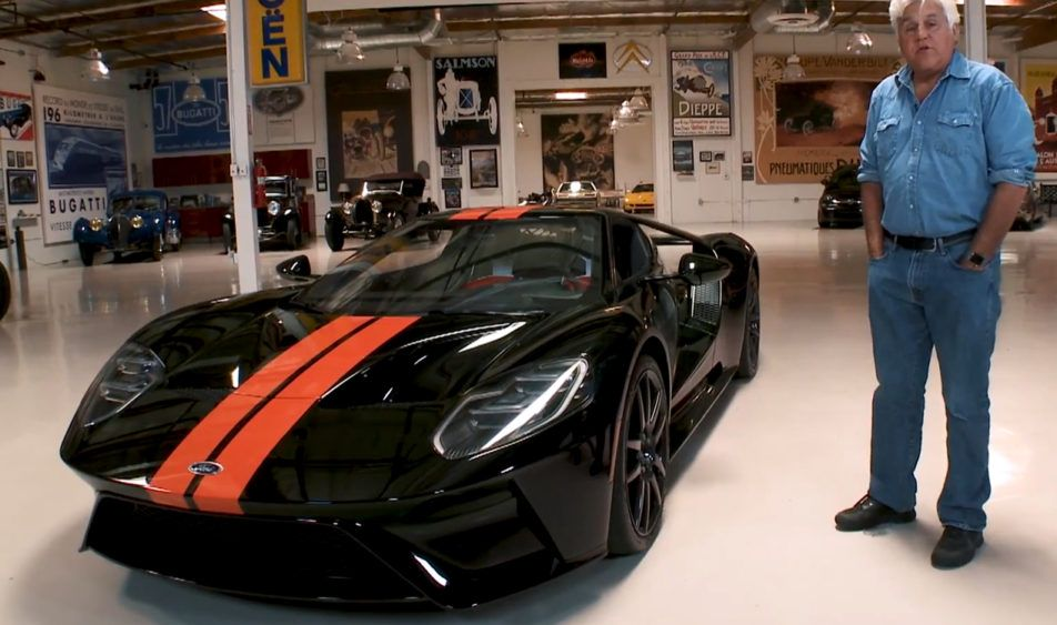 Jay Leno Shows Off With His  Ford Gt If You Are A Car Lover