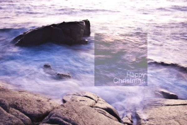 -Happy Christmas by Cédric Dasesson , via Behance