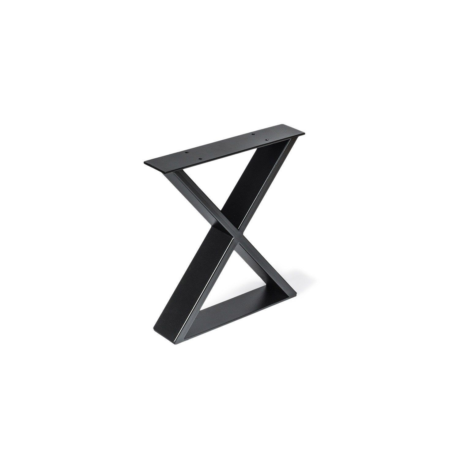 Pied De Meuble Design Fixe Metal Brut Noir 1 Cm Rei Pied Meuble Meuble Design Brut