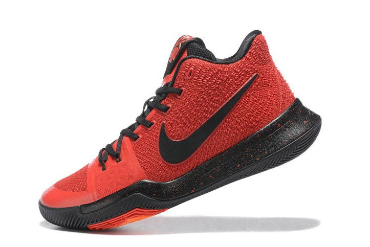 Free Shipping Only 69$ Nike Kyrie 3 Deceptive Sport Red Black