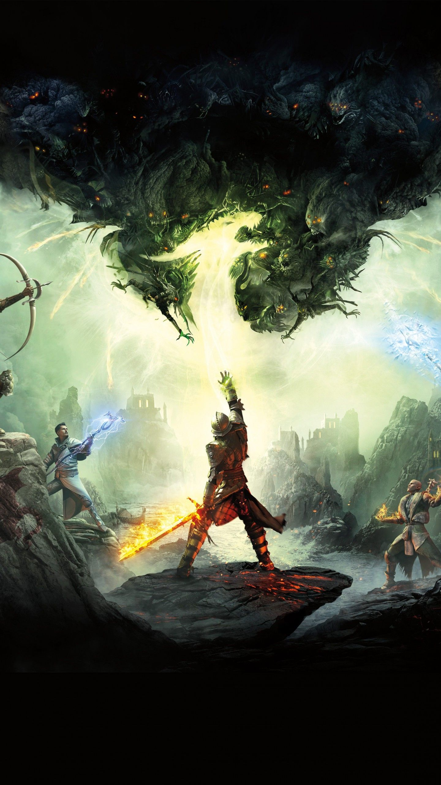 Wallpaper Dragon Age Inquisition Artwork 4k 8k Games Dragon