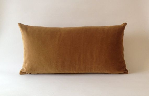Camel Brown Decorative Bolster Pillow Cover by NoraQuinonez