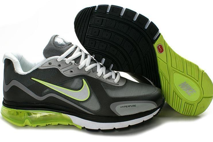quality design b797f 83d95 Nike Air Max Alpha + 2012 Men s Running Shoe 227663 781 Black Green