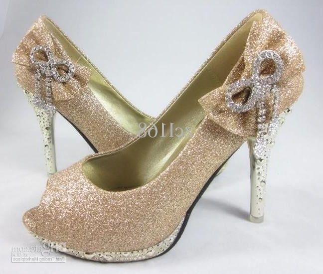 Gold Diamond Heels | Gold High Heels Shoes Colorful Diamond Women ...