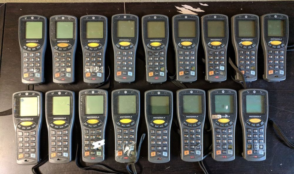 Lot Of 17x Motorola Symbol Mc1000 Mobile Computer Korean Mc1000