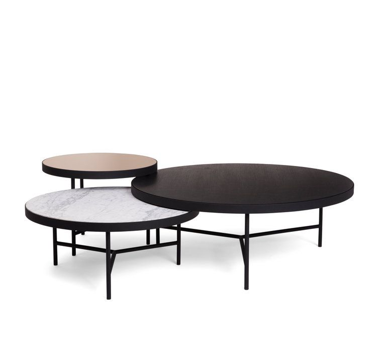 Nesting Coffee Table Set Mirrored Coffee Tables Low Coffee