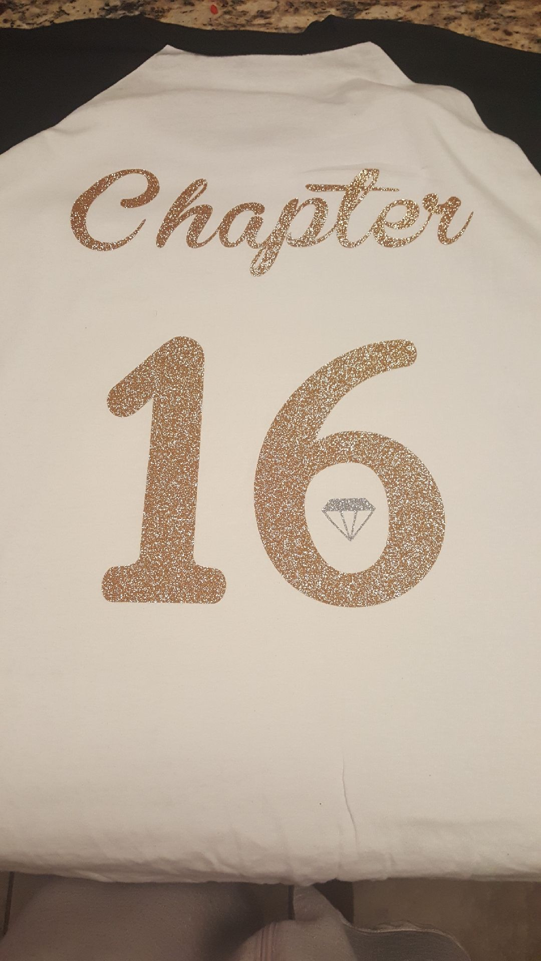 Chapter 16 17th Birthday Sweet Ideas Squad Shirts