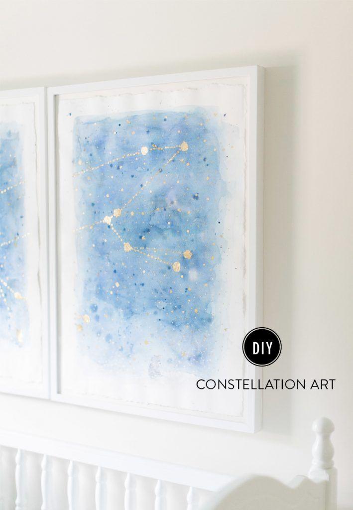 13 Creative DIY Abstract Wall Art Projects   Abstract wall art ...