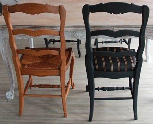 Relooking Chaises Avant Apres Par Francine Declerck Mobilier De Salon Relooking Meuble Deco Maison