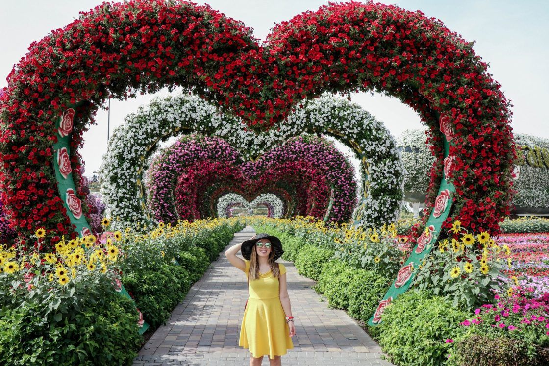 22 Reasons To Visit The Dubai Miracle Garden The Little