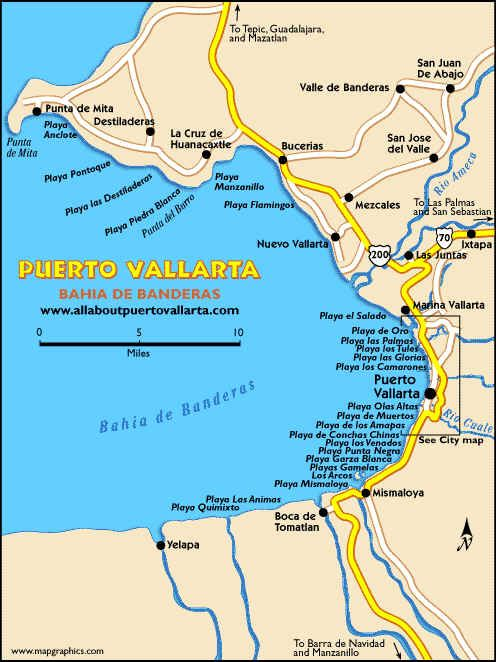 Puerto Vallarta Hotel Map : puerto, vallarta, hotel, Puerto, Vallarta, Mexico,, Mexico, Vacation,