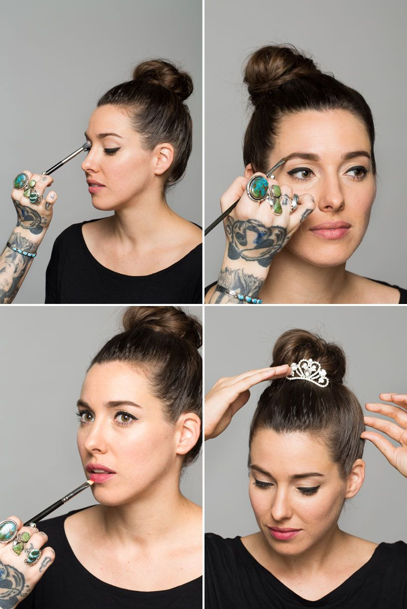 3 Genius Halloween Eye Makeup Tutorials From Camillestyles