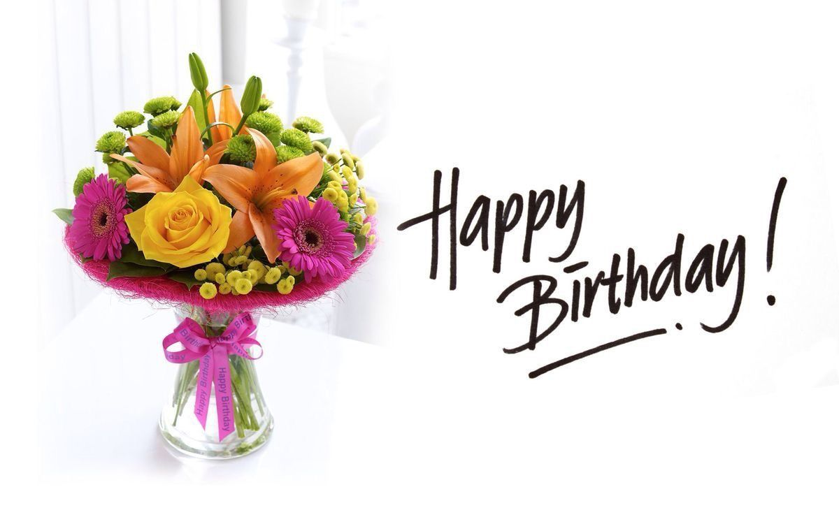 Pin by ladonne smith on happy birthday pinterest happy birthday bilderesultat for happy birthday flowers izmirmasajfo
