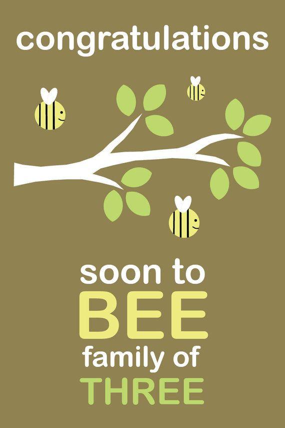Soon to BEE family of three!