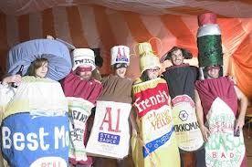 Condiments Costume Halloween Fancy Dress