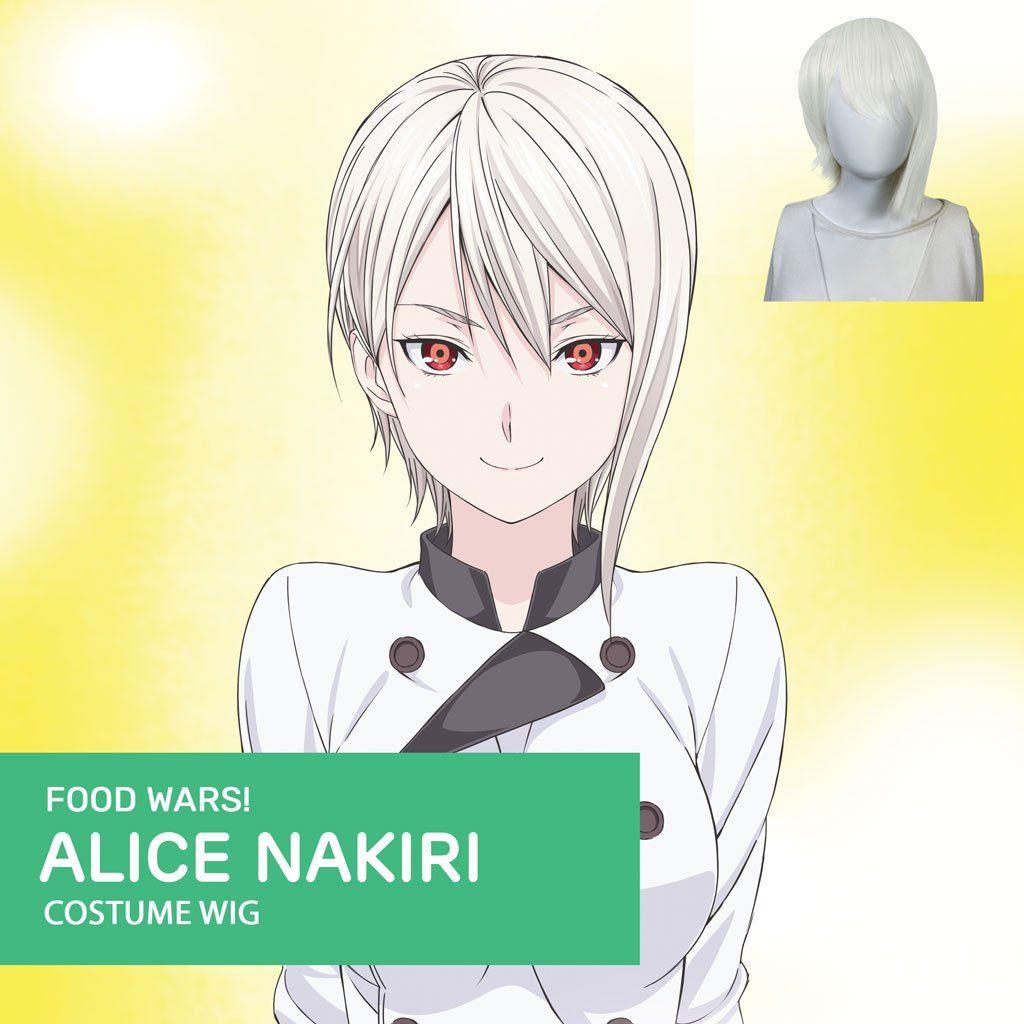 Photo of Food Wars – Alice Nakiri – Official Licensed Cosplay Wig