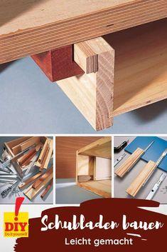 Schubladen Selber Bauen Was Ist Zu Beachten Schublade Bauen Schublade Selber Bauen Werkbank Selber Bauen
