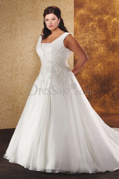 wedding dress ball gown style with detailed train