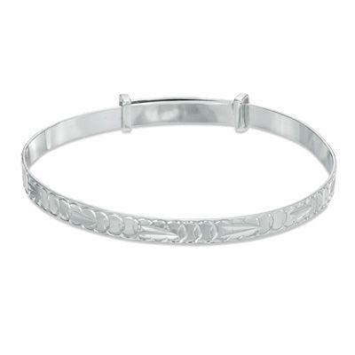 Child/'s Bangle adjustable Sterling Silver