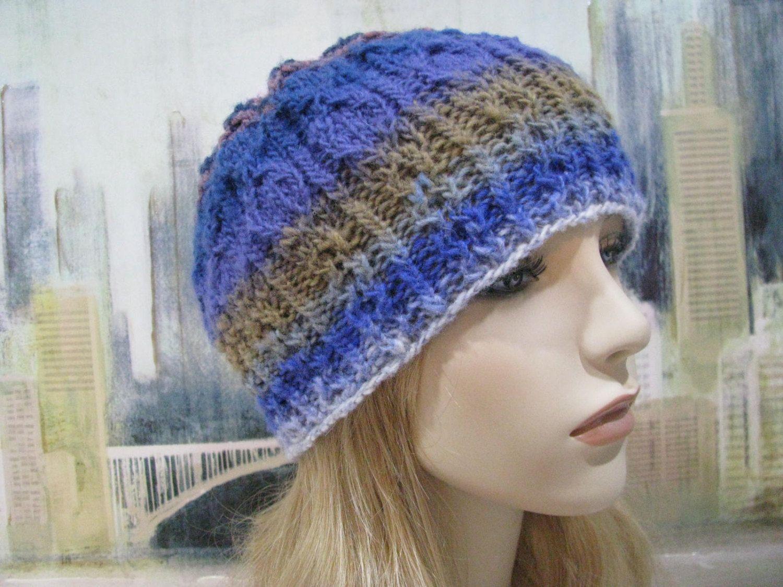 Knitting Patterns, Women\'s Knitted Hat Pattern, Winter Hat Pattern ...