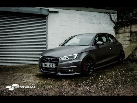 Audi A1 Satin Dark Grey Google Search Audi A1 Audi Autos