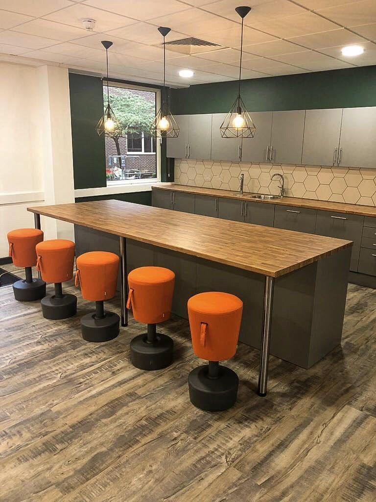 Modern Kitchen fitted in Bizspace Newcastle