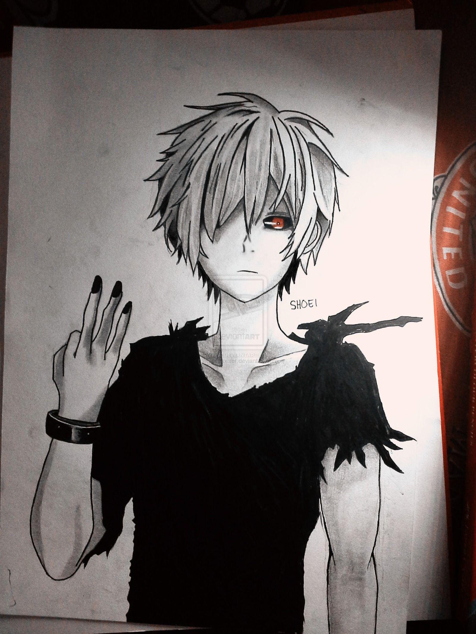 39 Gambar Anime Art Pencil Tergokil