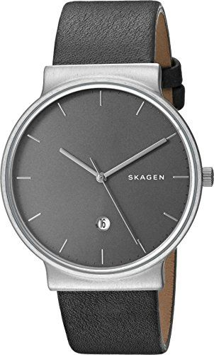 Men's Wrist Watches - Skagen Mens SKW6320 Ancher Titanium Analog Quartz Grey * To view further for this item, visit the image link.