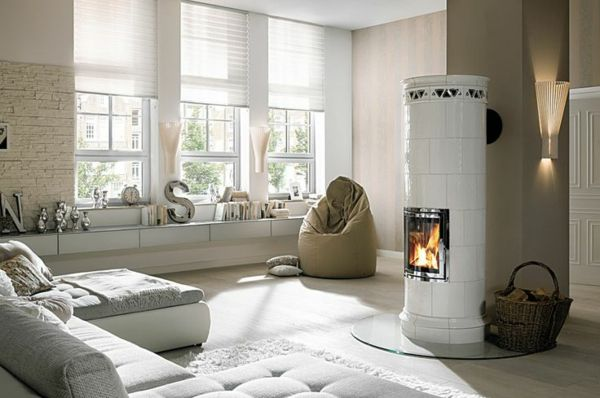 Runde Kachelöfen Hark Coole Wohnideen Wohnzimmer Gestalten Ideen