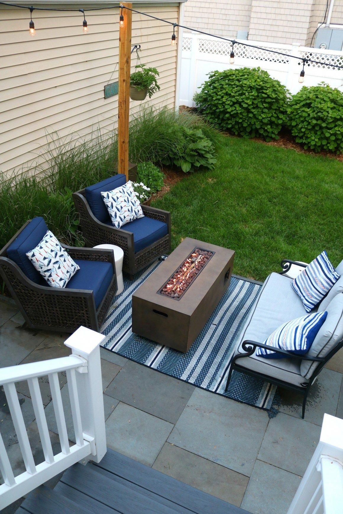 Backyard Patio Outdoor Furniture For Small Spaces Small