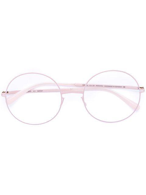 537f0398fe MYKITA round-frame glasses.  mykita  glasses Pink Eyeglasses