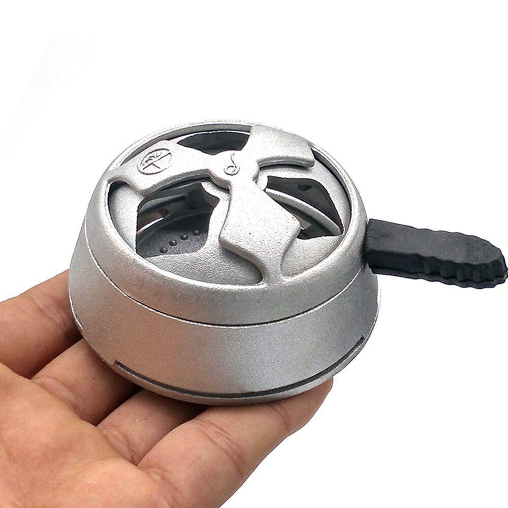 Black Hookah Charcoal Heat Device Shisha Hookahs Chicha Narghile Accessories