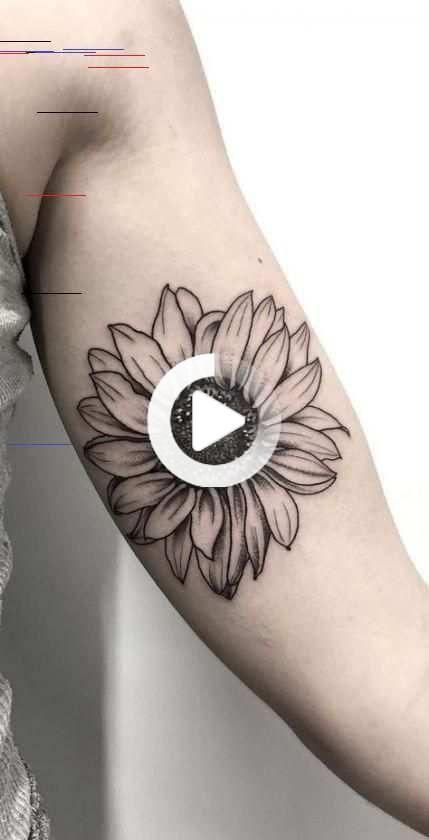 Tattoo Sunflower Wrist Sunflowers 50 Ideen für 2019