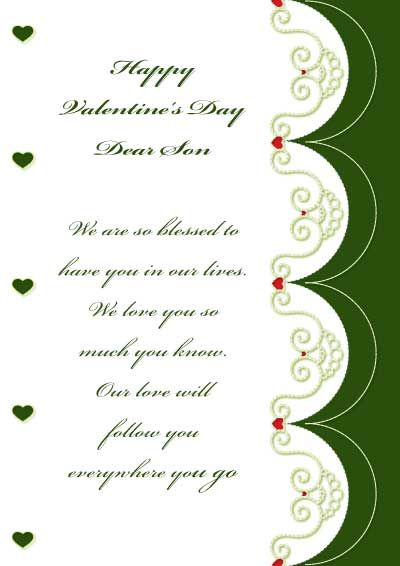 printable valentine's cards - for son - my.free.printable.cards, Ideas