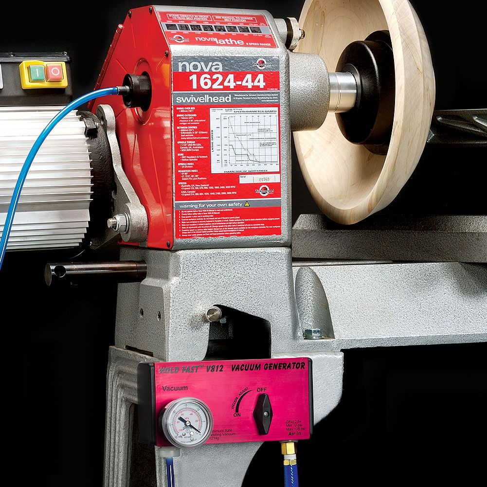 Hold Fast 6 Inch Vacuum Chuck System Woodturning Tools