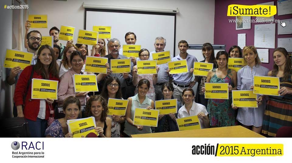 Acción/2015 es un movimiento global y reúne a organizaciones para pedir acuerdos sobre la pobreza, la desigualdad y el cambio climático