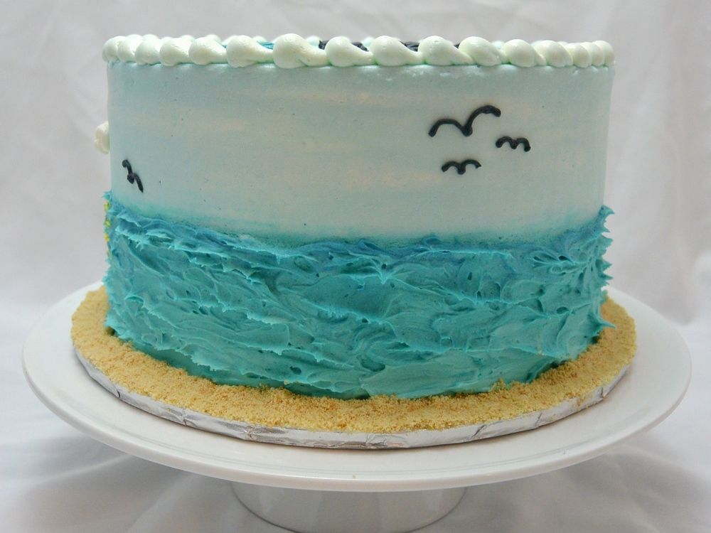 Birthday Baking Oven Cake