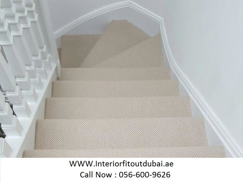 Protect Your Stairs By Finest Quality Stair Carpets Availabale At Best Rates On Interiordubai These Stair Carpets Are L Carpet Stairs Buying Carpet Stairs