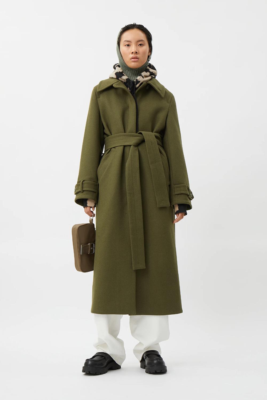 Ricky Wool Blend Coat Green Jackets Coats Weekday In 2021 Coat Wool Blend Coat Green Coat [ 1500 x 1000 Pixel ]