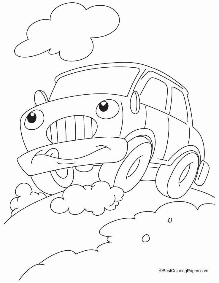 Coloring Pages Of Car Awesome Funny Car Coloring Pages In 2020 Cars Coloring Pages Coloring Pages For Kids Free Kids Coloring Pages