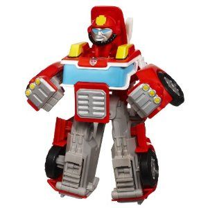 Amazon Com Transformers Rescue Bot Heatwave Firebot Toys Games