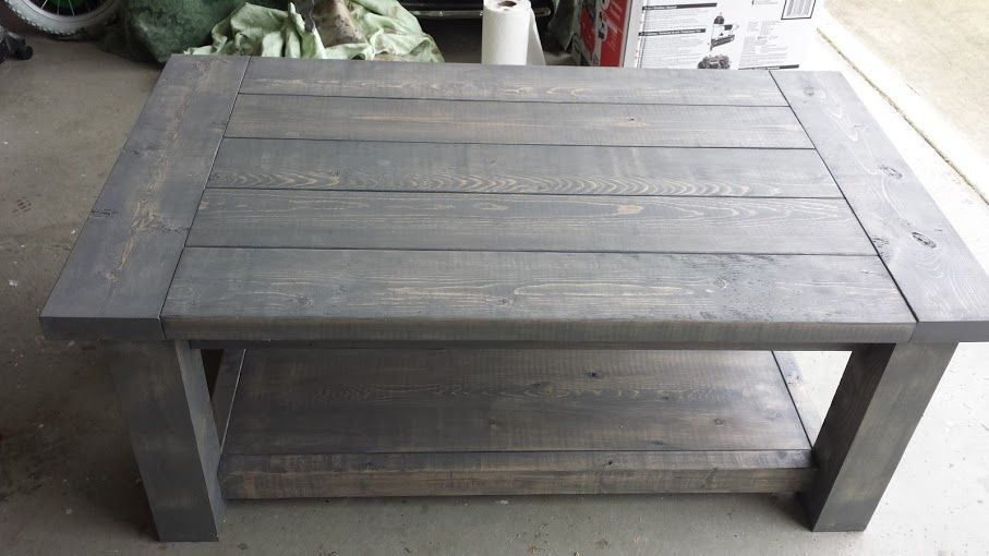Exceptionnel Rustic Grey Coffee Table   Answerplane.com
