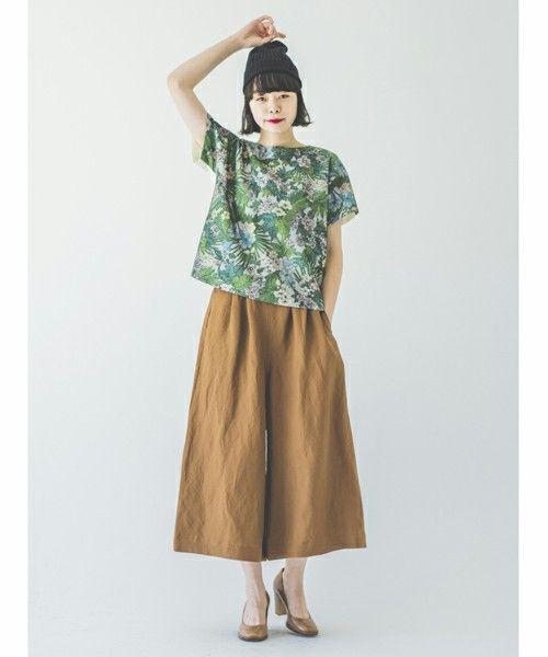 LINEN WIDE PT #SINDEE #Kanoco #fashion